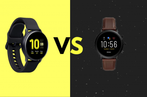 Fossil Gen 5 vs Galaxy Active 2