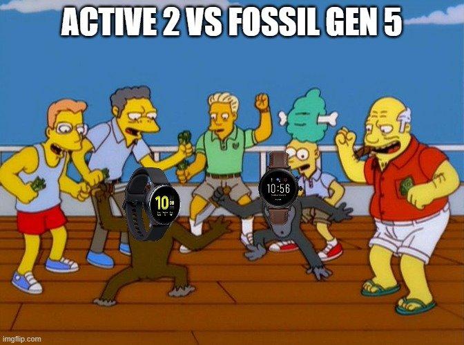 Samsung Galaxy Watch Active 2 vs Fossil Gen 5