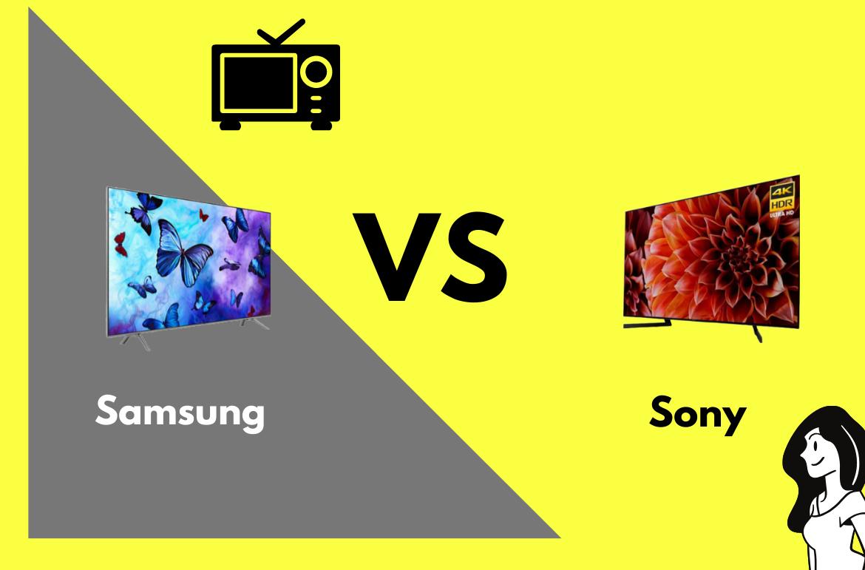 television samsung vs sony