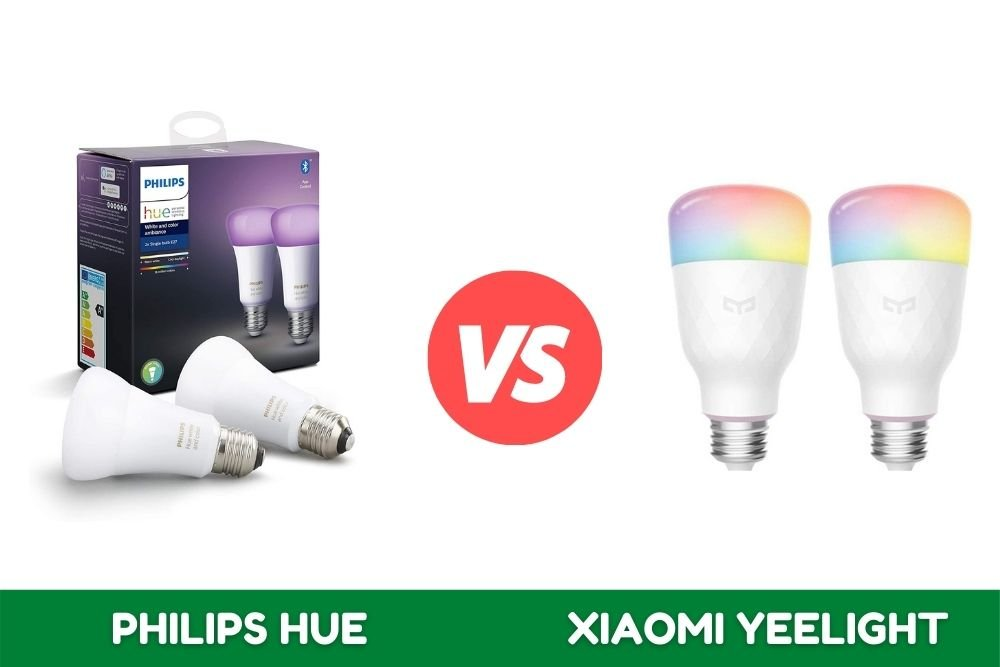 Comparativa Philips Hue vs Xiaomi Yeelight