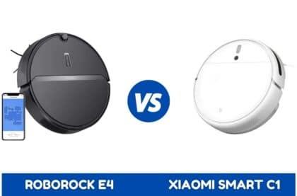 Roborcok E4 vs Xiaomi Robot Vacuum C1