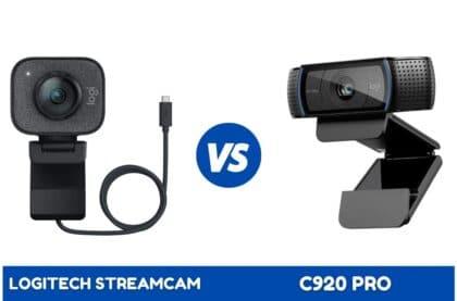 Logitech Streamcam vs C920 PRO