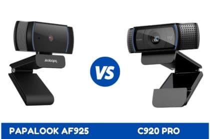 papalook af925 vs c920 pro
